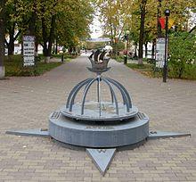 Geo center of Europe